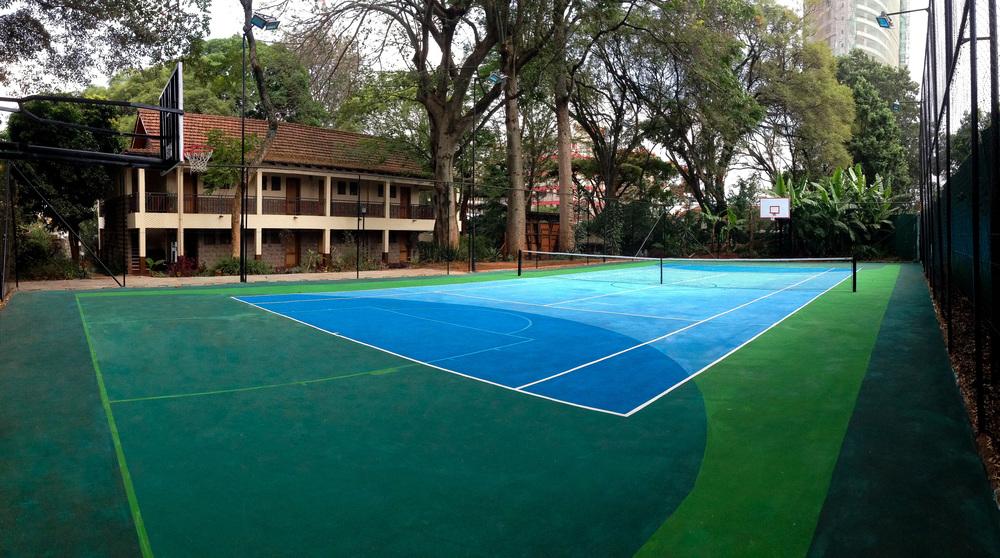 Amani Gardens Sports Court Reservation