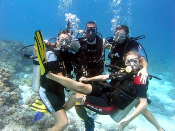 Diving in Diani