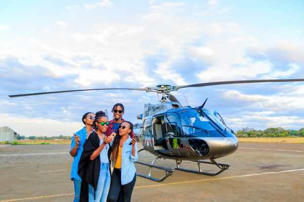 The Moshi Helicopter Experience