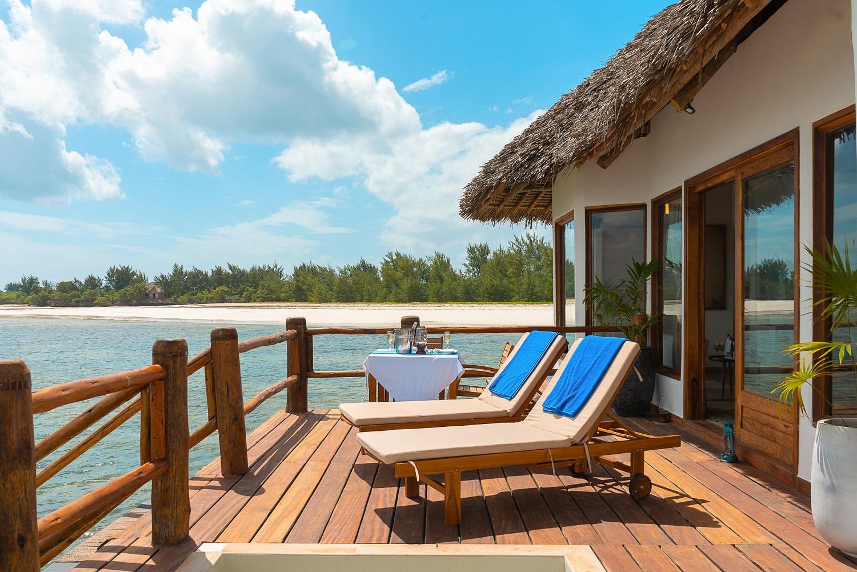 Isaraya Over water villa - Zanzibar